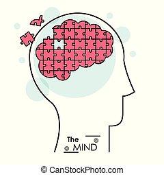 the mind puzzle jigsaw problem brain