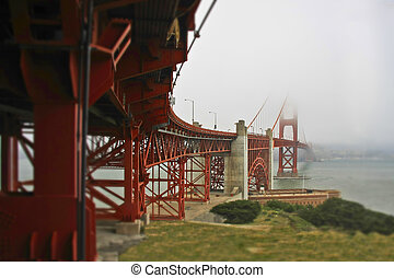The Miniature Golden Gate Bridge