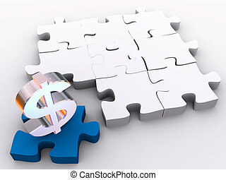 The missing piece is finance in 3d puzzles