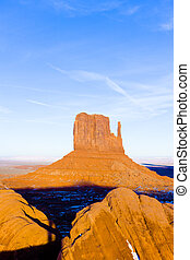 The Mitten, Monument Valley National Park, Utah-Arizona, USA
