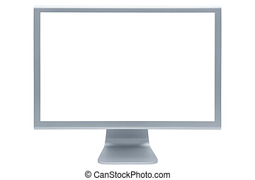 modern and thin display - The modern and thin display on a ...