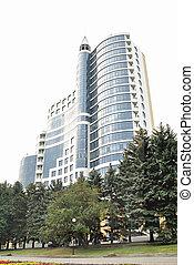 The modern architectural complex