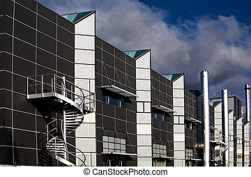 factory - the modern factory building in Europe