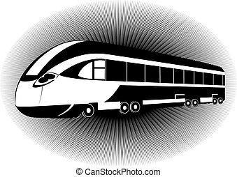 The modern train