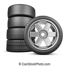 The modern wheels