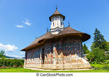 The Moldovita Monastery is a Romanian Orthodox monastery ...