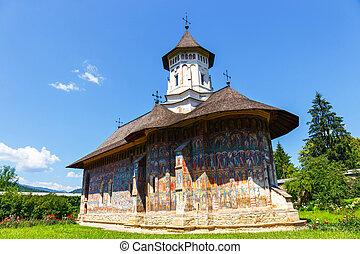 The Moldovita Monastery is a Romanian Orthodox monastery...