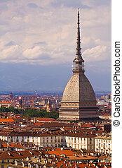 The Mole Antonelliana - City of Turin and Mole Antonelliana...