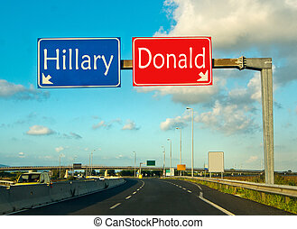 the important moment of political choice, Democrats or Republicans