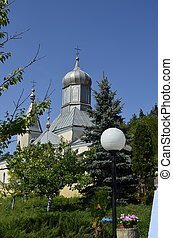 The monastery Cosauti