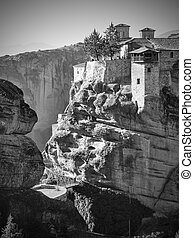Monastery of Varlaam in Meteora in Greece