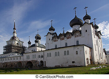 The monastery on Solovki