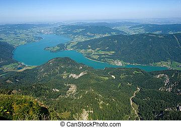 The Mondsee in Austria