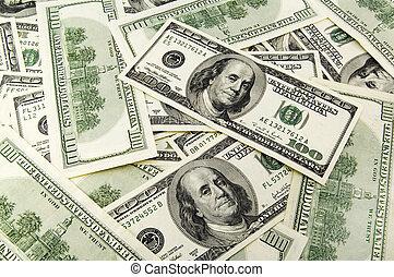 The money. - The paper money.