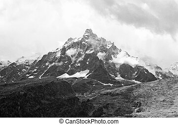 The Mont Blanc or monte bianco - The Mont Blanc, Monte...