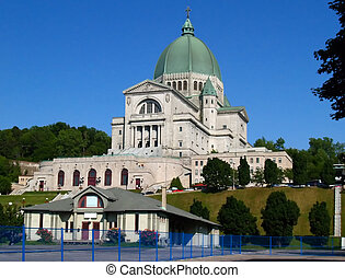 The Montreal St-Joseph Oratory in Montreal Canada