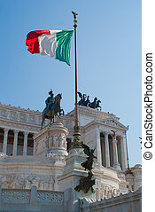 The Monument of Victor Emmanuel II
