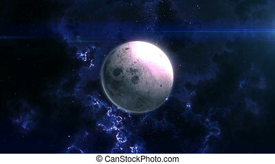 The Moon Reveal in Space