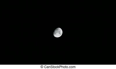 the moon view in november in the northern hemisphere, full ...