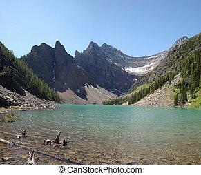 the Moraine Lake in Canada