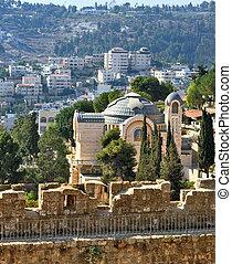 Battlements of Jerusalem