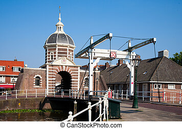 Morspoort city gate - The Morspoort city gate in Leiden, the...