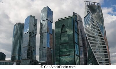The Moscow International Business Center in Russia