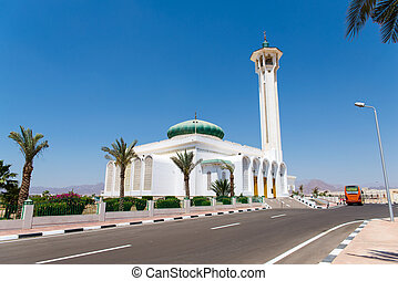 the mosque in Sharm el Sheikh