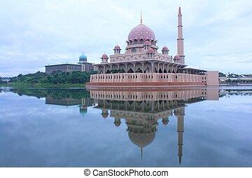 The Mosque of Putrajaya