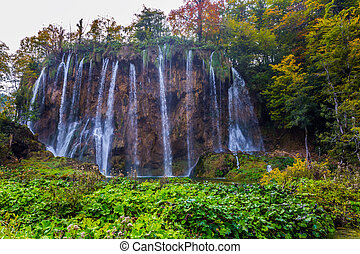 The most picturesque waterfalls