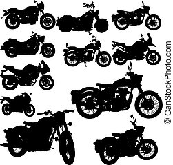 motorcycle classic vector - the motorcycle classic vector...