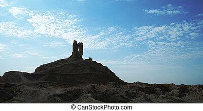 The mountain of Borsippa