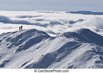 the mountain top winter
