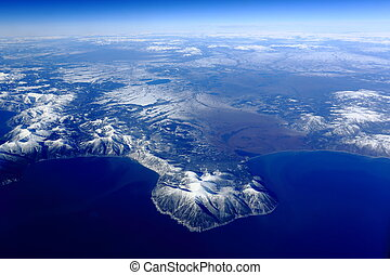 Kamchatka Peninsula - the mountains of Kamchatka Peninsula, ...