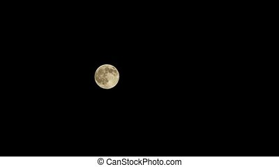 the movement of the moon in the night sky - the moon in the...