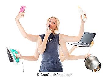 the Multitasking Woman