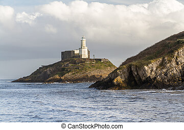 The Mumbles and lighthouse