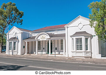 The museum in Graaff Reinet, South Africa