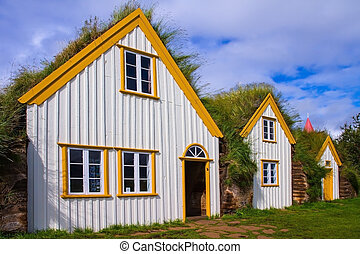 The museum of first settlers - The recreated village -...