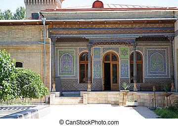 Uzbekistan - The Museum of the applied art, Tashkent,...