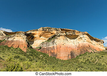 Mushroom Rock at Golden Gate in the Free State Province