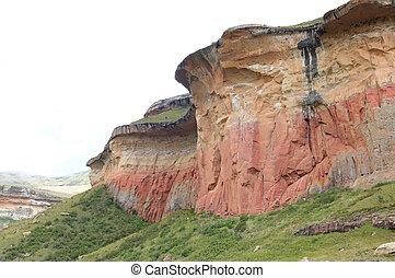 The Mushroom Rocks in the Golden Gate Highlands National Park