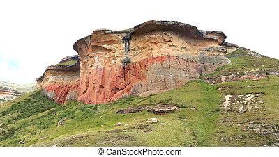 The Mushroom Rocks in the Golden Gate Highlands National Park