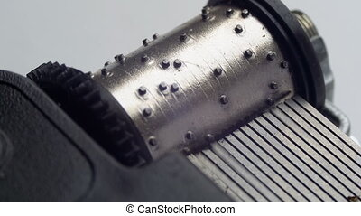 The Music Box Mechanism Rotates - The music box mechanism...