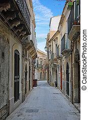 The narrow streets of Syracuse, Italy - The narrow streets...