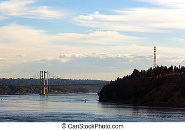 Narrows Bridge from Point Defiance