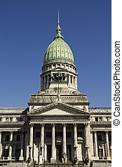 The National Congress in Buenos Aires