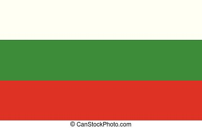 The National Flag of Bulgaria - The national flag of...