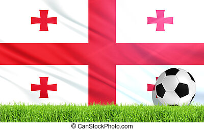 The National Flag of Georgia