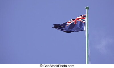 National flag of New Zealand f